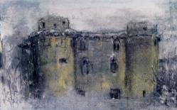 Nunney Castle, Somerset, Winter