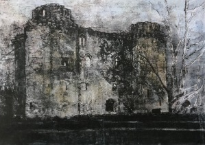 Nunney Castle, Dusk